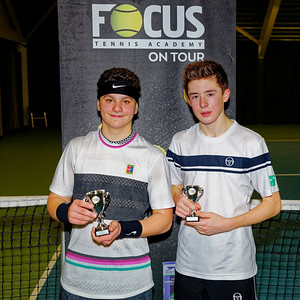 01.05a Finalists boys singles 16 years - FOCUS tennis academy open 2019