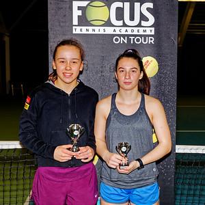 01.05 Finalists girls singles 16 years - FOCUS tennis academy open 2019