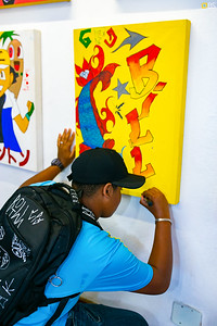 Fabrica de Grafitti (Exposição Cetro Cultural)  05.07.2019
