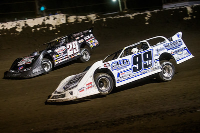 Boom Briggs (99B) and Darrell Lanigan (29)