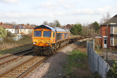 66737 Eastleigh 13/02/19 6M46 Marchwood to Bicester