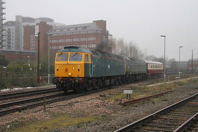 47853 Basingstoke 05/02/19 5Z18 Eastleigh to Crewe with 47501