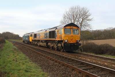 66749 Mottisfont 13/02/19 0Z50 Kidderminster to Eastleigh with 50049