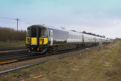 2411 Worting Junction 07/02/19 5Q39 Wimbledon to Bournemouth with 2404