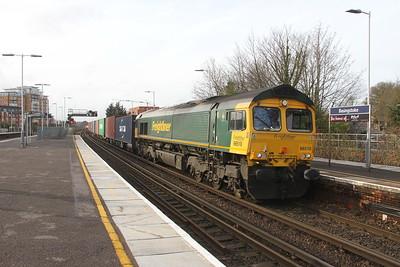 66510 Basingstoke 06/02/19 4M61 Southampton to Trafford Park