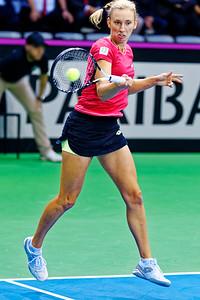 01.02a Elise Mertens - Fedcup Belgium vs France 2019