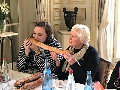 St. Clair - Alex and Nancy bread tasting