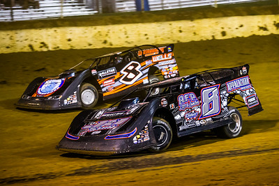 Mike Benedum (8) and Kyle Strickler (8)