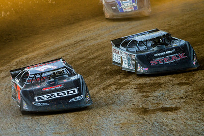Dale McDowell (17M) and Scott Bloomquist (0)
