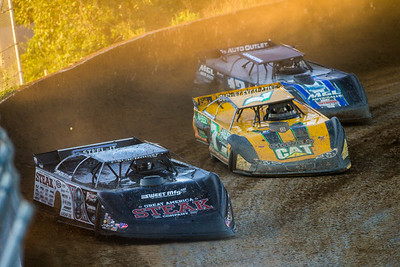 Scott Bloomquist (0), Donald McIntosh (7) and Jason Jameson (12)
