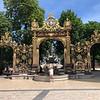 In Nancy, France.  Royal gardens
