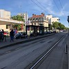 Funny streetcar line in Nancy uses one rail, but the ride is very ruff (worse than a bus)