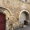 Old arch doorways.