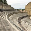 Roman theater, from top seating.