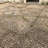 cobble stone on plaza, Avignon France