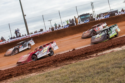 Brandon Overton (2), Chase Junghans (18), Jimmy Owens (20) and Tim McCreadie (39)