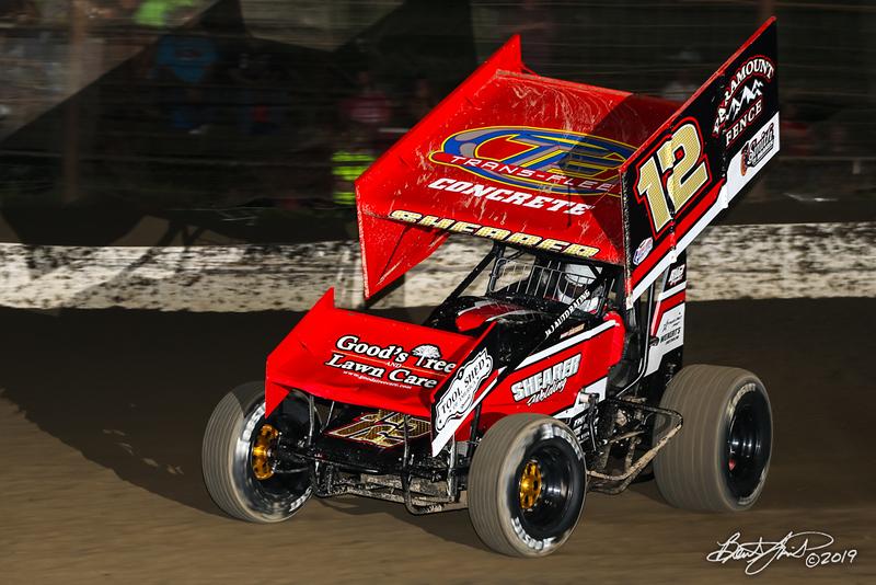 Pennsylvania Sprint Car Speedweek - Grandview Speedway - 12 Barry Shearer