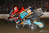 Pennsylvania Sprint Car Speedweek - Grandview Speedway - 9 James McFadden, 69K Lance Dewease