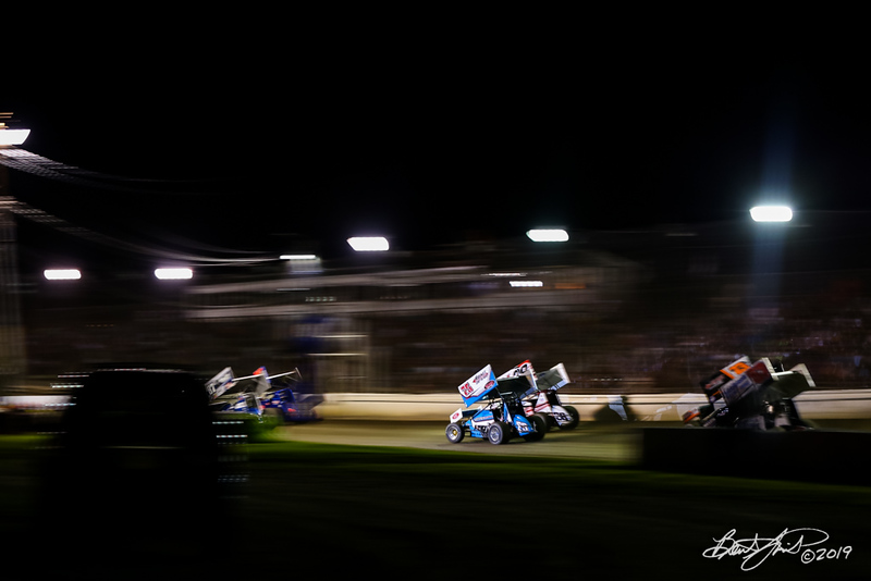 Pennsylvania Sprint Car Speedweek - Grandview Speedway - 75 Chase Dietz