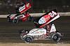 Pennsylvania Sprint Car Speedweek - Grandview Speedway - 87 Aaron Reutzel, 24 Lucas Wolfe