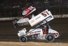 Pennsylvania Sprint Car Speedweek - Grandview Speedway - 24 Lucas Wolfe, 57 Kyle Larson