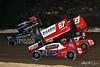 Pennsylvania Sprint Car Speedweek - Grandview Speedway - 39B Christopher Bell, 87 Aaron Reutzel
