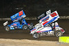 Pennsylvania Sprint Car Speedweek - Grandview Speedway - 35 Tyler Reeser, 99M Kyle Moody, 53 Jessie Attard