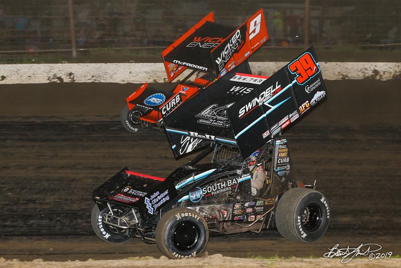 Pennsylvania Sprint Car Speedweek - Grandview Speedway - 9 James McFadden, 39B Christopher Bell