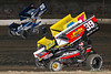 Pennsylvania Sprint Car Speedweek - Grandview Speedway - 26 Cory Eliason, 37 JJ Grasso, 39M Anthony Macri