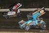 Pennsylvania Sprint Car Speedweek - Grandview Speedway - 24 Lucas Wolfe, 69K Lance Dewease