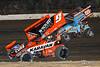 Pennsylvania Sprint Car Speedweek - Grandview Speedway - 9 James McFadden, 69K Lance Dewease