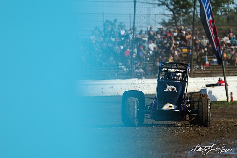Jesse Hockett Classic - USAC AMSOIL National Sprint Cars - Grandview Speedway - 2 Bill Balog