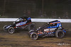 Jesse Hockett Classic - USAC AMSOIL National Sprint Cars - Grandview Speedway -  7BC Tyler Courtney, 4 Justin Grant