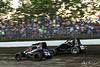 Jesse Hockett Classic - USAC AMSOIL National Sprint Cars - Grandview Speedway - 24 Brian VanMeveren, 2 Bill Balog