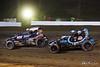 Jesse Hockett Classic - USAC AMSOIL National Sprint Cars - Grandview Speedway - 5G Chris Windom, 19AZ CJ Leary