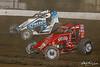 Jesse Hockett Classic - USAC AMSOIL National Sprint Cars - Grandview Speedway - 21p Carmen Perigo, 52 Isaac Chapple