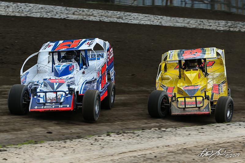 Grandview Speedway - 77H Jordan Henn, 357 Duane Howard