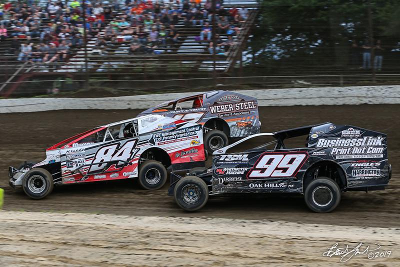 Grandview Speedway - 84Y Alex Yankowski, 99 Craig Whitmoyer