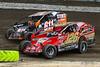 Grandview Speedway - 611 Justin Grim, 126 Jeff Strunk