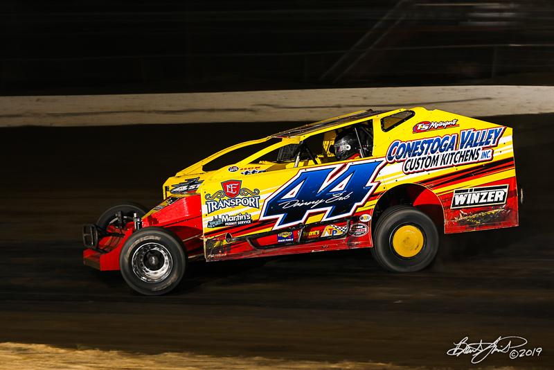 Grandview Speedway - 44 Danny Erb