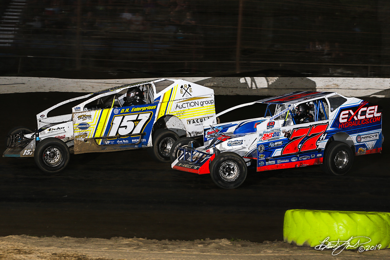 Grandview Speedway - 157 Ron Seltman, 77H Jordan Henn