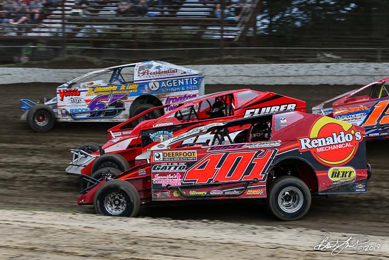 Grandview Speedway - 401 Frank Cozze, 65 Bobby Gunther Walsh