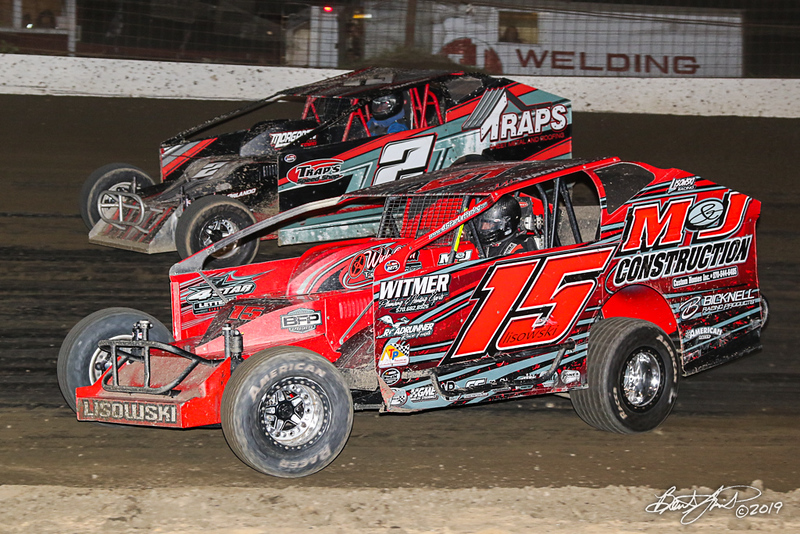 Grandview Speedway - 2T Bobby Trapper Jr., 15 Mike Lisowski