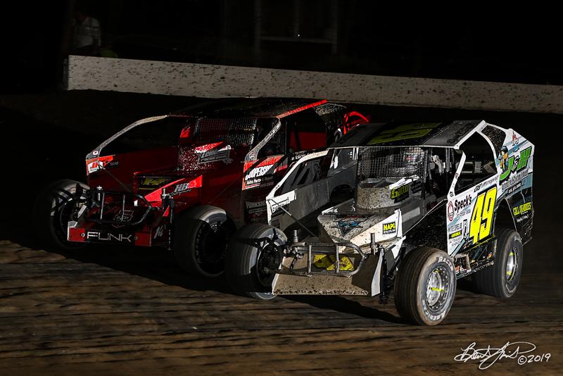 Grandview Speedway - 49 Ryan Lilick, 14RR Joe Funk