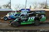 Grandview Speedway - 6 Kenny Bock, 19 Brad Brightbill