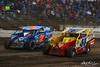 Grandview Speedway - 7 Rick Laubach, 44 Danny Erb