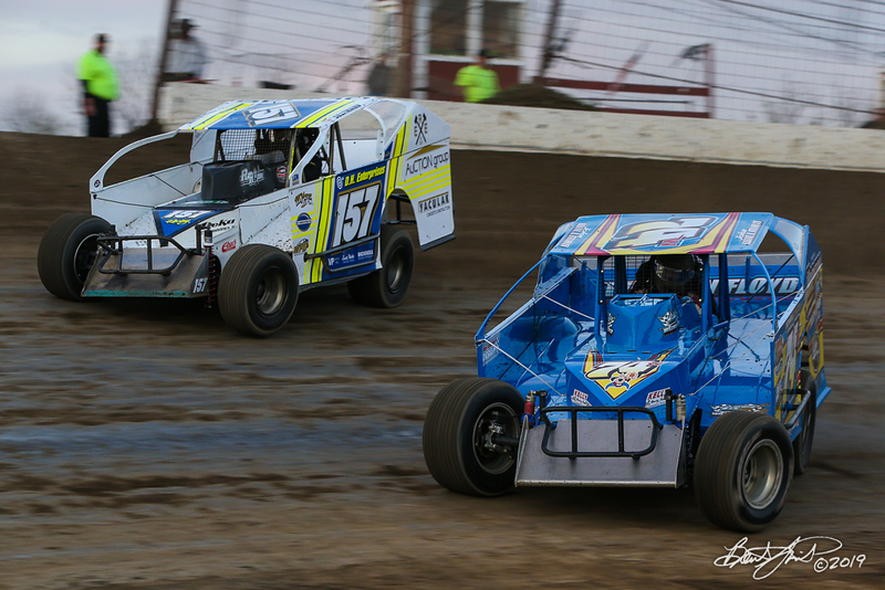 Grandview Speedway - 157 Ron Seltman, 74w John Willman