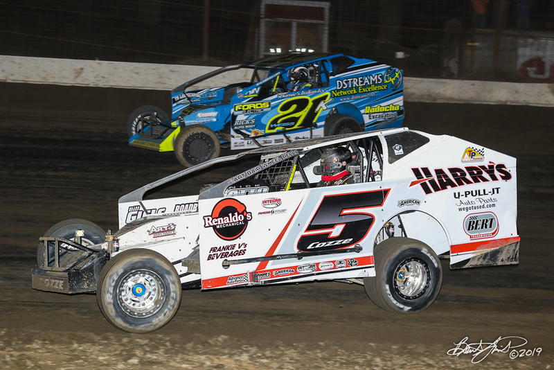Grandview Speedway - 21K Kyle Weiss, 5 Frank Cozze