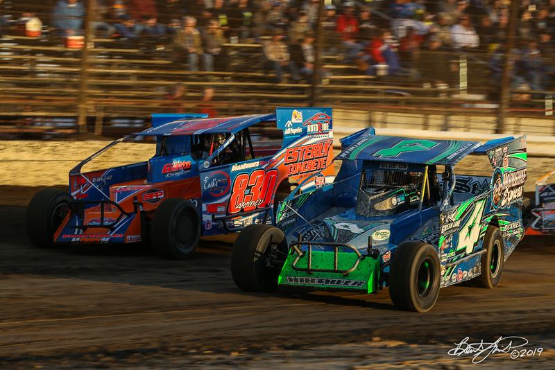 Grandview Speedway - 4* Brian Hirthler, 830 Brad Arnold