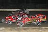 Grandview Speedway - 14RR Joe Funk, 126 Jeff Strunk, 99 Craig Whitmoyer